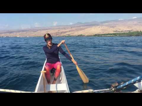 Take a trip in the outrigger sailing canoe Beach Club at Mauna Kea Resort