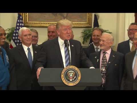 Trump revives National Space Council