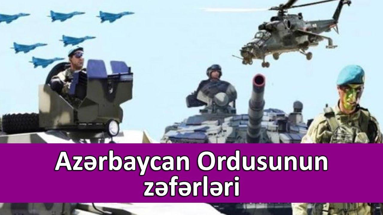 Azərbaycan Ordusunun zəfərləri