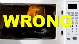13 Random Things You Shouldn't Microwave