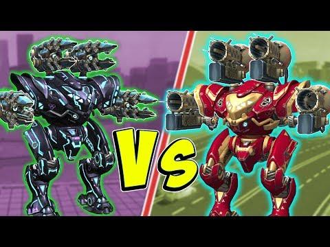 SCOURGE VS TARAN Spectre Mk2 Brawler Showdown - War Robots Gameplay WR