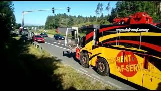 Lkw Unfall A2 Bettlerkreuz 2