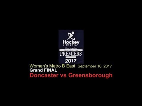 Hockey: Women's Metro B Grand Final 2017