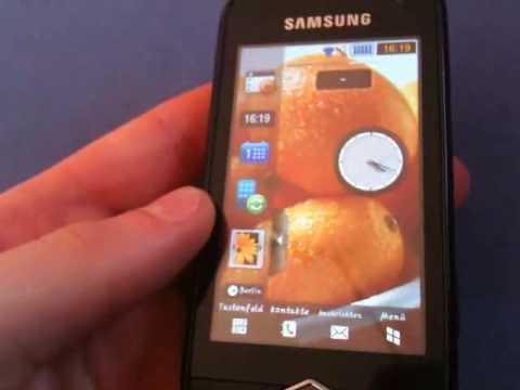 Vorstellung Samsung S8000 JET Teil 2/2