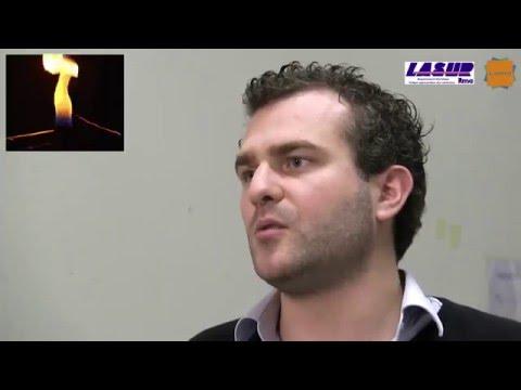 LASUR - Remote temperature and concentration profile measurements coupling LIDAR and spectroscopy