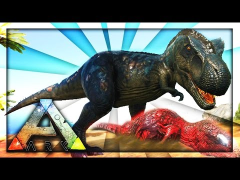 T REX VERSUS ALPHA CARNO? (Ark Survival)