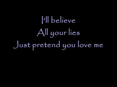 Evanescence - Anything For You - Instrumental with Lyrics