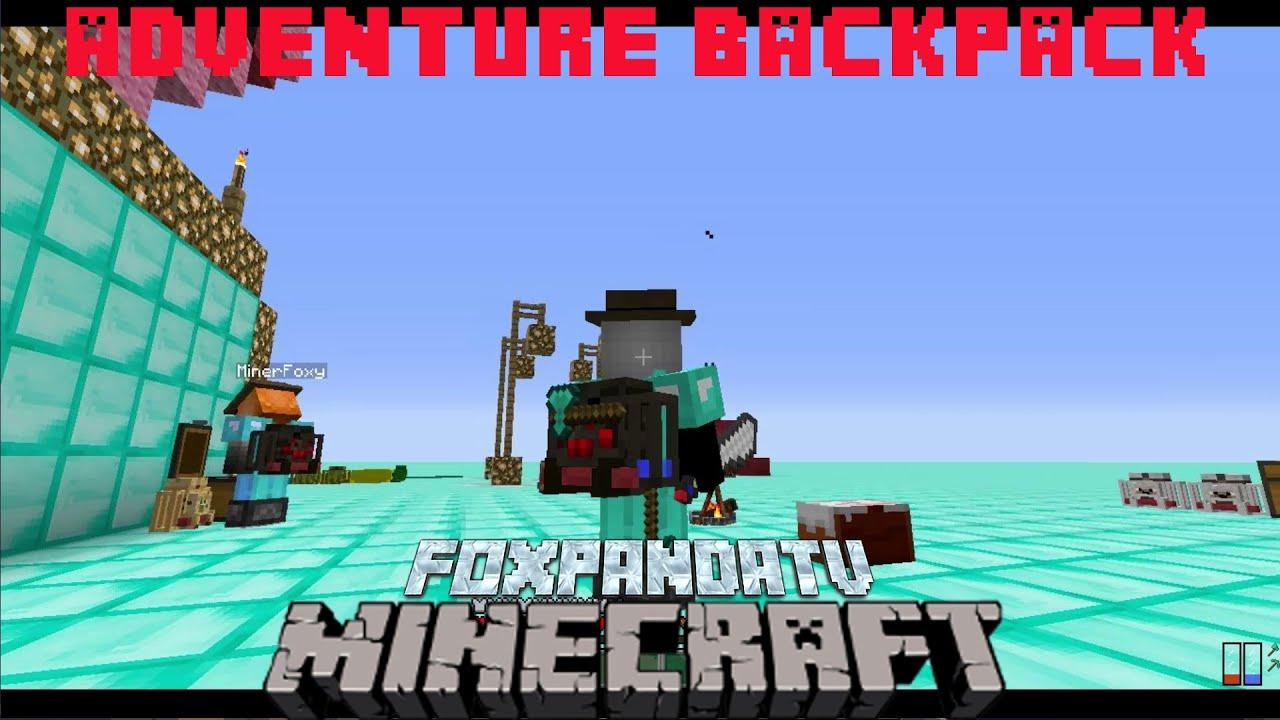 adventuring backpack minecraft