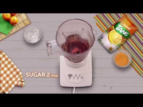 Iced Tea with Tang Orange