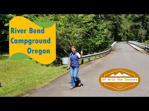 Campground Review - River Bend & Soda Creek Falls