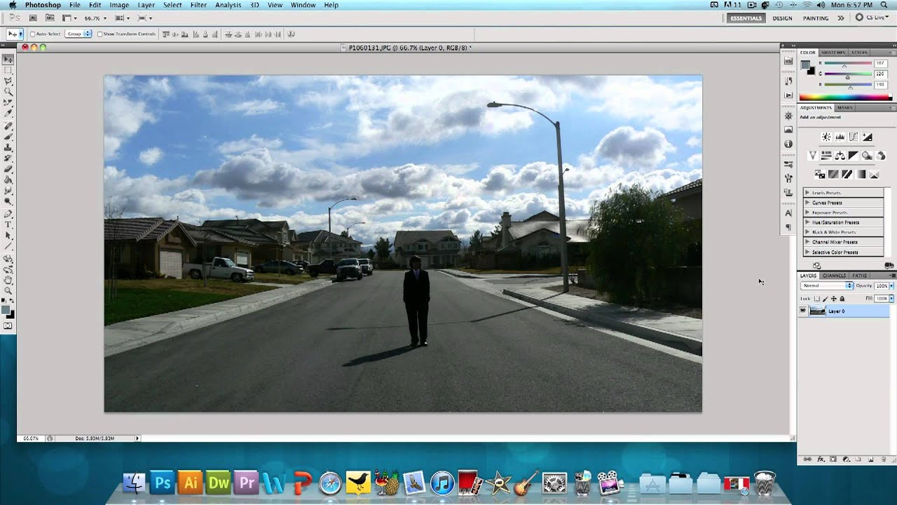 Photoshop Tutorial: Fake HDR Effect