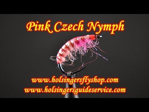 Pink Czech Nymph