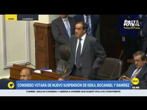 Incidente entre Mulder y Lescano marcó la votación de la suspensión de tres congresistas
