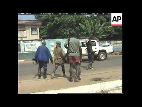 SIERRA LEONE: REBELS CLAIM TO HAVE TAKEN OVER FREETOWN: