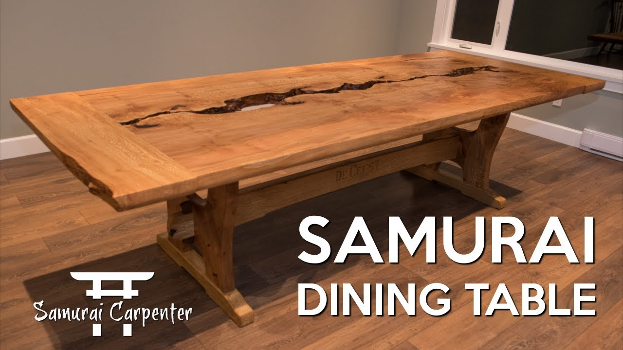 woodworking building a dining table start to finish