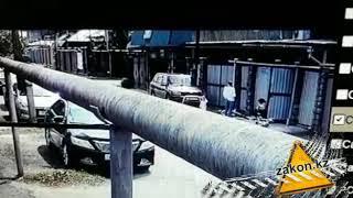 Видео наезда на ребенка в Алматы