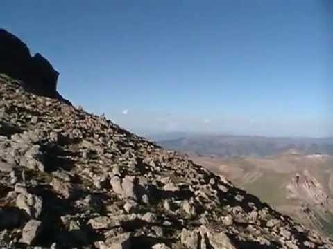 Uncompahgre Peak Colorado 14er video