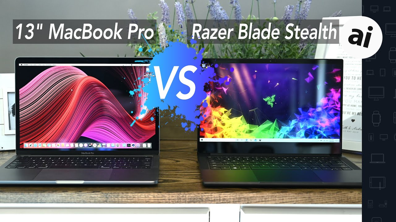 Compared: Razer Blade Stealth 13 versus Apple's 13-inch MacBook Pro