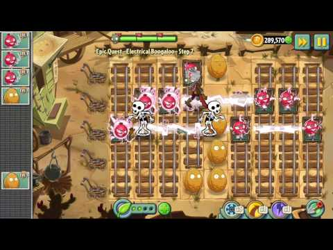 Plants Vs Zombies 2 Restarted Live 20170502  -  Epic Quest: Electrical Boogaloo