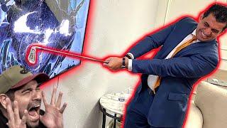 I Smashed a Fans TV & XBOX