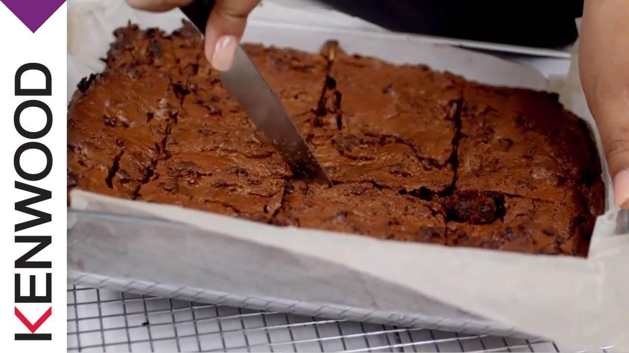 Chocolate Brownie Recipe for Your Kenwood Cooking Chef - YouTube
