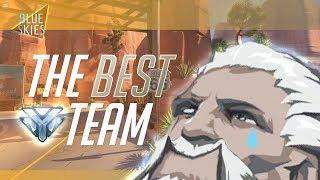 The BEST team. [Diamond Pharah Gameplay]