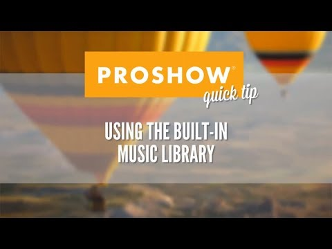 Using the Music Library
