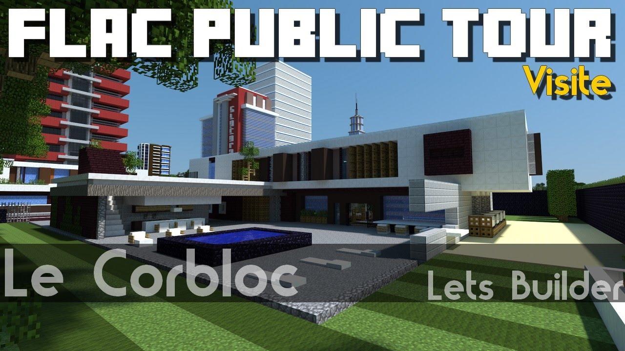 Minecraft fpt 01 maison moderne youtube - Jardin maison minecraft nimes ...