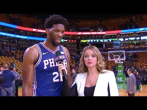 Download Youtube: Joel Embiid TURNS DOWN RIHANNA DATE & REJECTS HER ON LIVE TV! Joel Embiid Rejects Rihanna