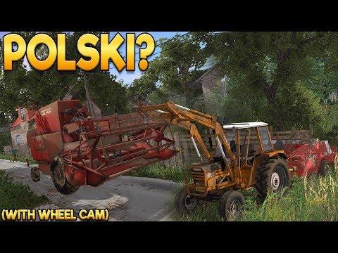 Polish Farming! - Farming Simulator 17 -  Ep.1 (with Wheel Cam)