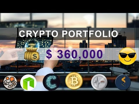 $360,000 CryptoCurrency Portfolio