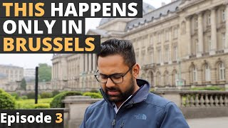 Brussels Old Town with its WEIRD wonders and sweet surprises. Traveling Desi's Belgium - Episode 3
