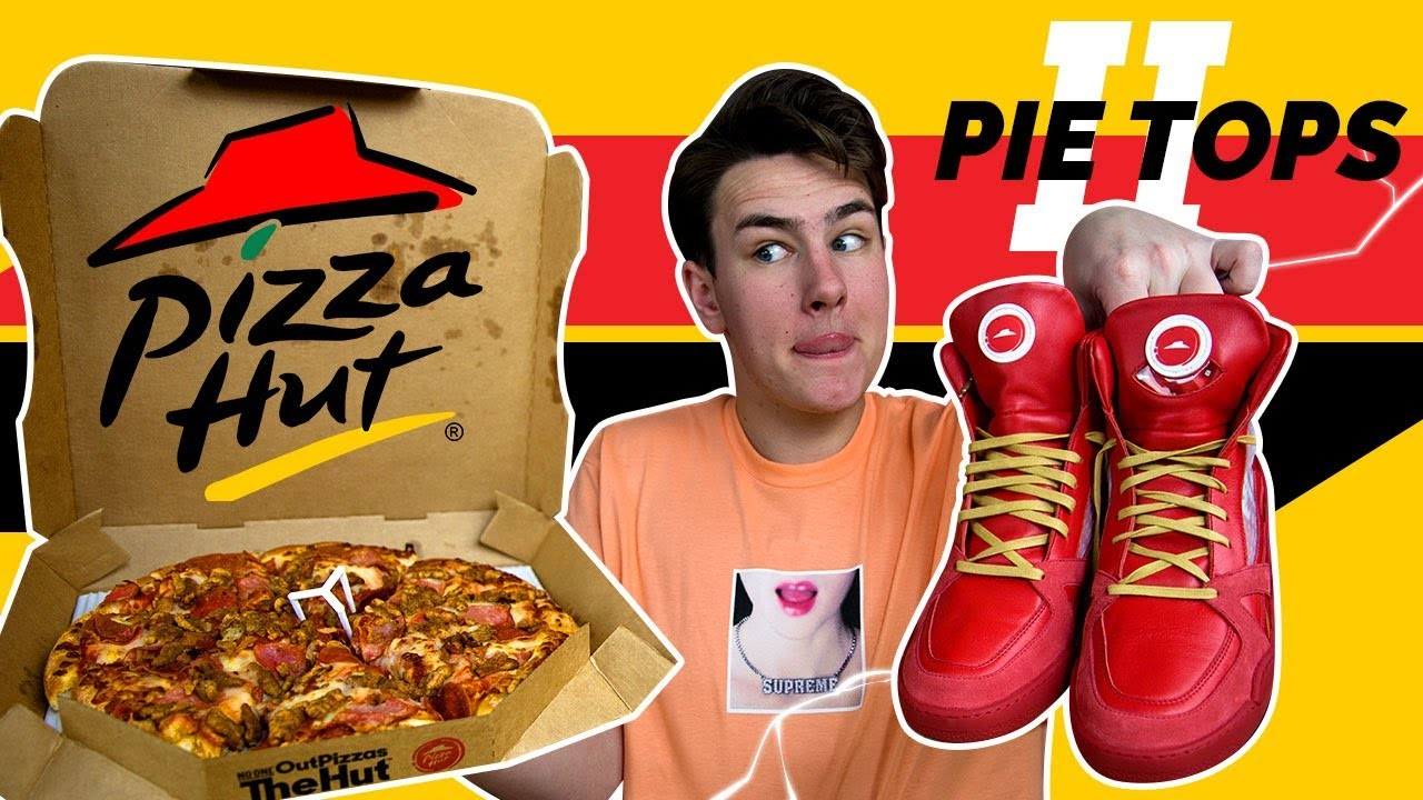 0b70c791f8d92 The 2018 Pizza Hut Pizza Ordering Shoes Are Weird... (Pie Tops 2 ...