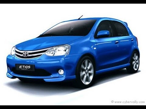 Toyota Etios Liva Hatchback Small Car India Interiors and Exteriors Video Review
