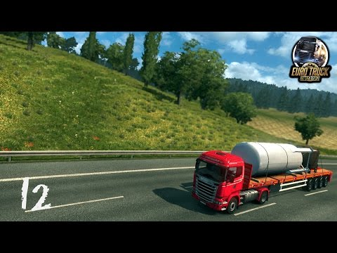 [ETS 2] Let's play #12 | Kassel-Hannover - Le grand retour d'Euro Truck !