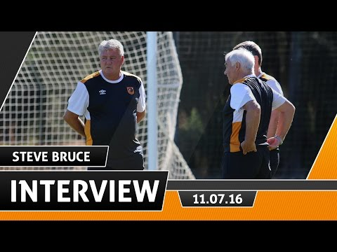 Interview | Steve Bruce on Pre Season & The Premier League | 11.07.16