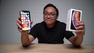 iphone xs unboxing and review
