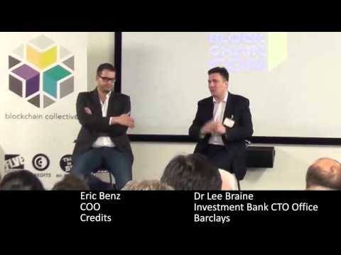 'Blockchain for Enterprise' Panel, Dr Lee Braine & Eric Benz