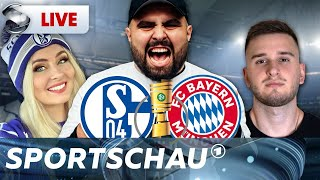 DFB-Pokal: Schalke 04 - Bayern Münchenlive mit Meti, Sabrina und IamTabak   Sportschau