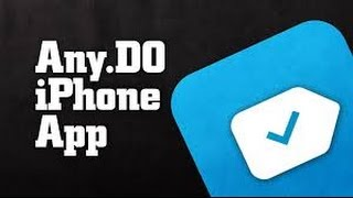 Any Do App Review and Tutorial
