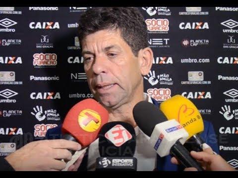 Entrevista pós-jogo: Vasco da Gama 0x1 Atlético Paranaense - Fabiano Soares