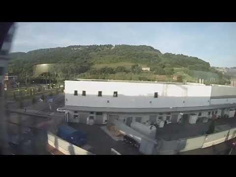 Rome, Italy to Florence, Italy - Frecciabianca (6x Speed) HD (2015)