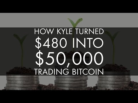 How Kyle Turned $480 into $50,000+ Trading Bitcoin