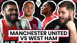 West Ham United 1-3 Manchester United | LIVE Stream Watchalong