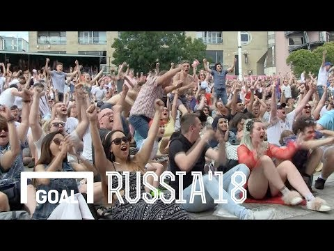 World Cup 2018: England fans react to victory over Sweden