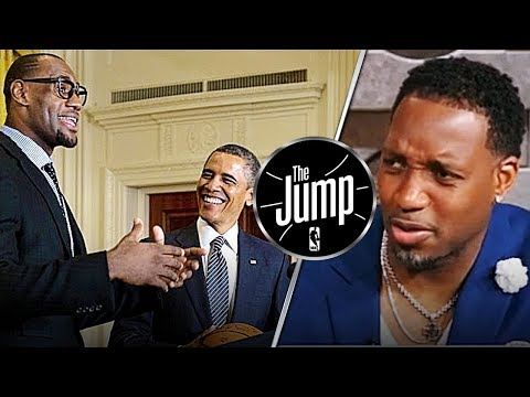 McGrady Says LeBron Is Better Than Jordan At Voicing His Opinions   The Jump