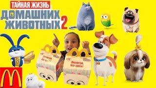 Тайная жизнь домашних животных 2 Идем в кино, покупаем игрушки ХЭППИ МИЛ МАКДОНАЛЬДС