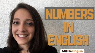 Numbers in English – And How to Say Big Numbers