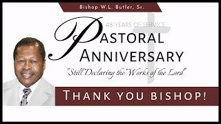 48th Pastoral Anniversary