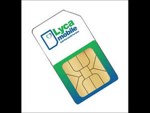 activation carte sim lycamobile How To Activate Lyca Mobile Sim Cards   YouTube